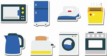Appliances Clipart Appliance Kitchen Oven Refrigerator Transparent