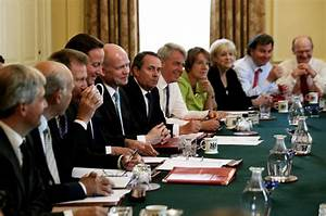 David Cameron And Nick Clegg Hold First Cabinet Meeting ...