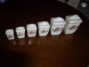 Pots à épices : s rie de pots pices en fa ence collection ~ Teatrodelosmanantiales.com Idées de Décoration