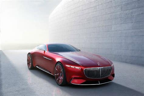 The Vision Mercedes-maybach 6, Mobil Konsep Mercedes