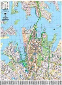 sydney cbd ubd 256 laminated map wall map of sydney