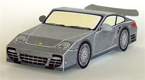 Built Your Own Porsche 911 Turbo Out Of Paper!