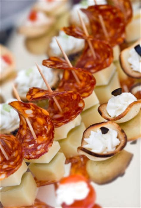 nibbles and canapes green fig innovative modern outdoor catering