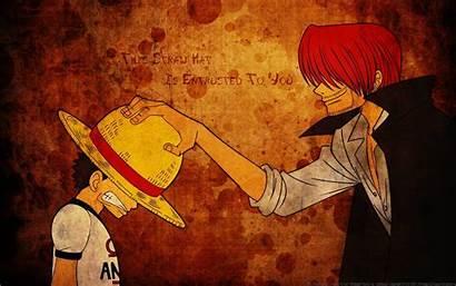 Piece Luffy Shanks Wallpapers Crew Anime Desktop