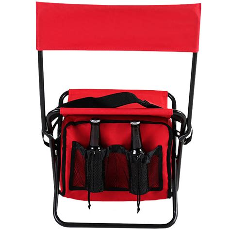 collapsible insulated cooler chair totally promotional