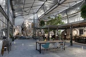Interieur Style Industriel : loft industriel une s lection d 39 int rieurs chics et boh mes ~ Melissatoandfro.com Idées de Décoration