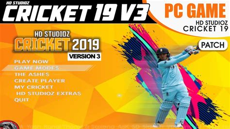The game developed by hb studios and published by electronic arts. How to Download and Install HD StudioZ Cricket 19 V3 Patch ...