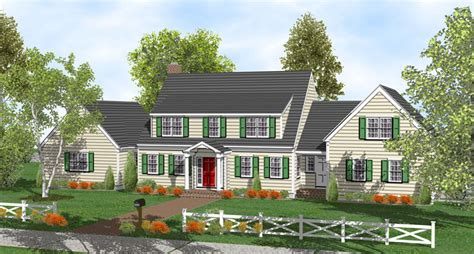 Cape Cod Style Homes Interior - 2 story cape home plans for sale original home plans