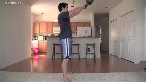 gain muscle weight lose kettlebell workout