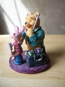 Disney Simply Pooh & Piglet Figurine - Winnie the Pooh