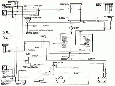 Chevy Camino Wiring Diagram Forums
