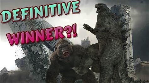 Godzilla Vs Kong (2020) Clear Winner Confirmed!
