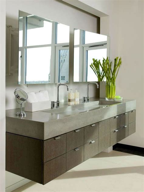 kohler wall hung faucet bathroom the modern bathroom vanity floating modern
