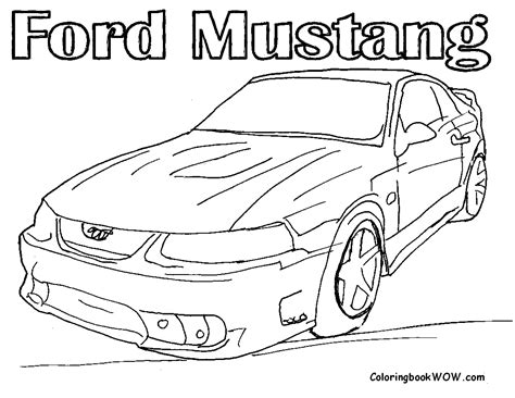 Ford Kleurplaat by Ford Coloring Pages To And Print For Free