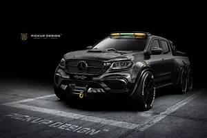 Mercedes Class X : 6 wheel mercedes x class is a carbon monster autoevolution ~ Melissatoandfro.com Idées de Décoration
