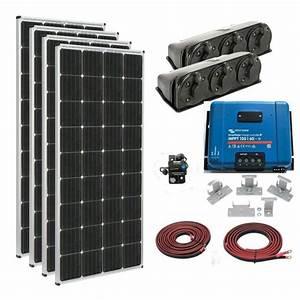 Complete 680 Watt Rv Solar Kit With 2800 Watt Power Inverter Charger  U2013 Back Country Solar