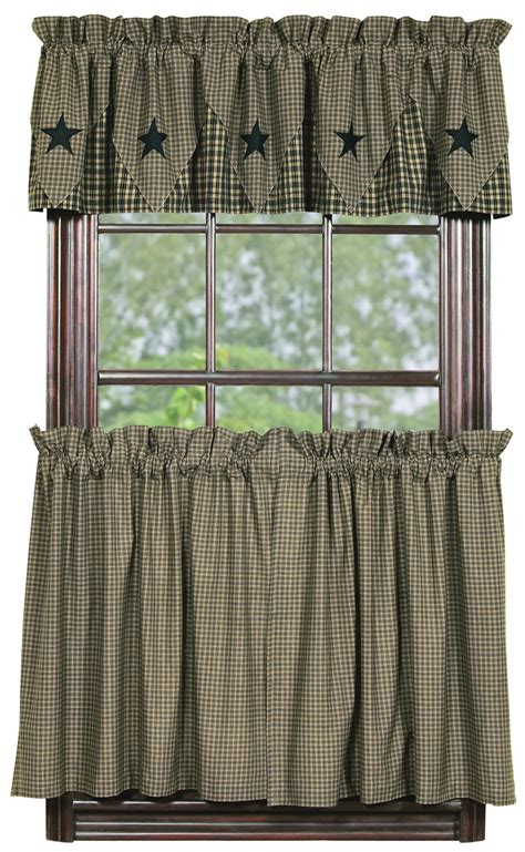 vintage black check tier curtains bestwindowtreatments