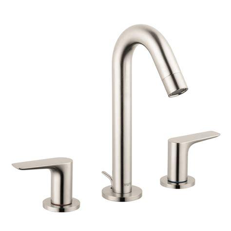 hansgrohe logis 150 8 in widespread 2 handle bathroom