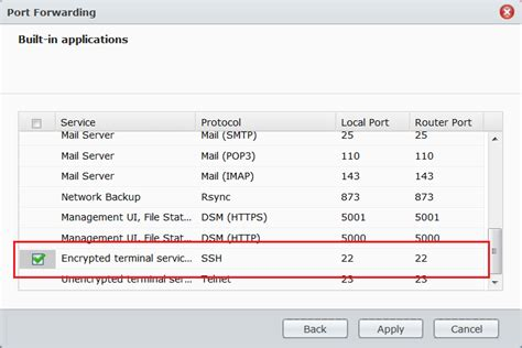how to enable terminal access to synology nas peppercrew