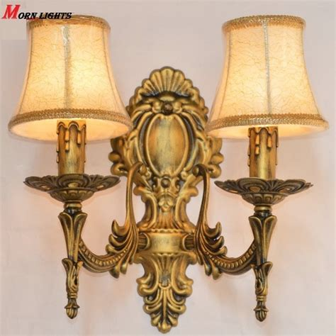 free shipping antique bronze wall sconce light fashion