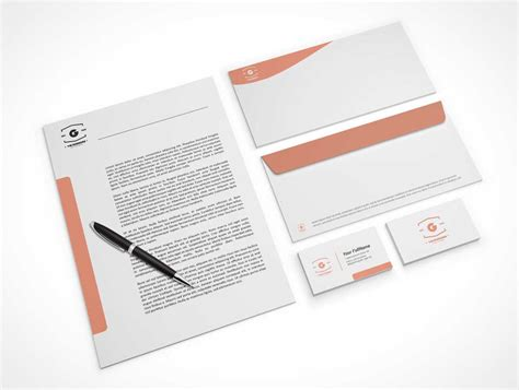 Company Stationery Letterhead Business Cards & Envelopes