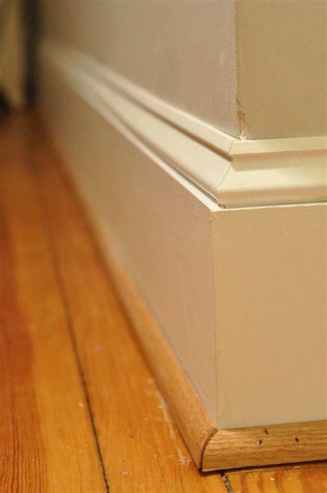 replace baseboard trim stairsupplies