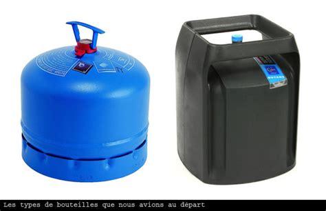 bouteille de gaz en voilier oleo