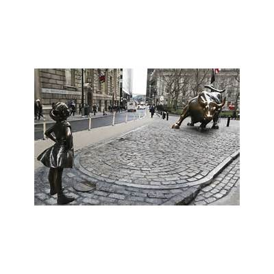 The Fearless Girl statue turns one this week. Here's what
