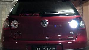 Vw Golf Mk5 Tdi With Led Reverse And Rear Fog Light Globes