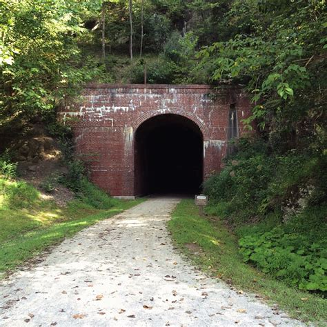North Bend Rail Trail In West Virginia Takes You Through ...