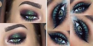 Maquillage Mariage Yeux Vert : maquillage vert yeux ~ Nature-et-papiers.com Idées de Décoration