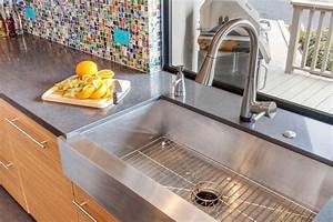photo page hgtv With apron front sink with backsplash