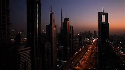 Dubai Lights Cinemagraph York Skyline Management Event