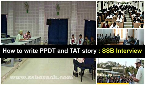 how to write ppdt and tat story ssb