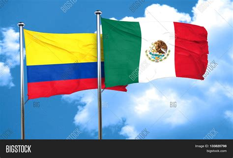 Colombia Flag Mexico Image & Photo (Free Trial)   Bigstock