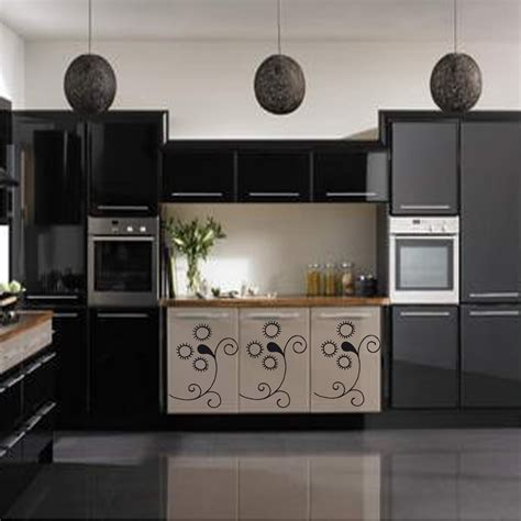 adhesif deco cuisine revetement pour meuble de cuisine cuisine shabby chic