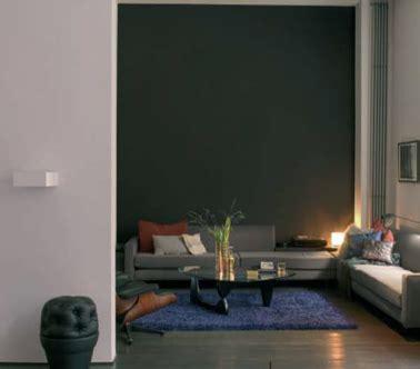 salon couleur taupe  gris tapis bleu canard