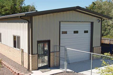 Garage Buildings by American Made Metal Shops Garage Kits Sunward Steel