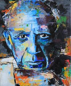 Pablo Picasso Painting by Richard Day