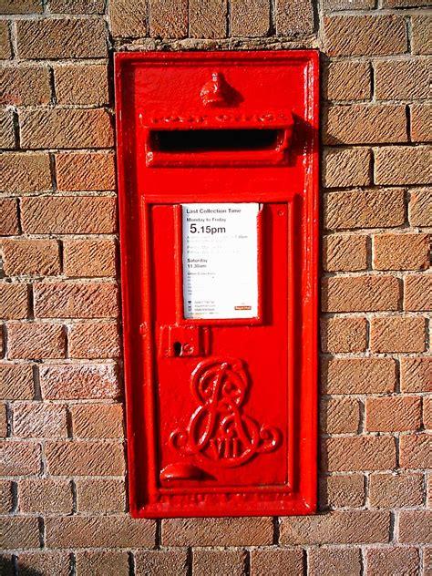 royal mail wall mounted letter box  david flickr