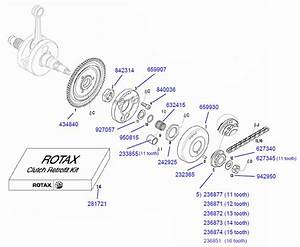 Rotax Clutch Parts    Rotax Max Engine Parts    2