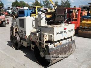 Ingersoll Rand Dd 24 Vibration 1995 Rollers Construction