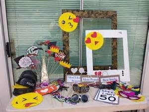 Photo Booth Frame Birthday Emoji