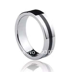 silicon wedding ring free shipping tungsten gold black silicone ring jewelry wedding bands for ring in