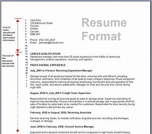 download resume format write the best resume With best resume layout