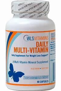 Daily Multi-Vitamin Capsules   WLS Vitamins
