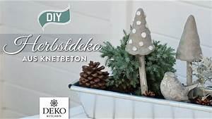 Deko Kitchen : diy herbstdeko mit pilzen aus knetbeton how to deko kitchen youtube ~ A.2002-acura-tl-radio.info Haus und Dekorationen