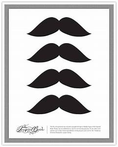 style sensibility diy create your own mustaches With mustache print out template