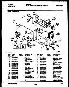 Tappan 57 Microwave Combo Parts