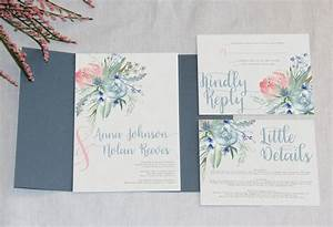 slate blue wedding invitation garden wedding dusty blue With dusty blue wedding invitations uk